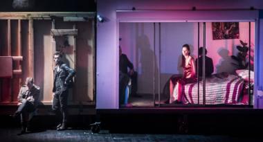 Scena iš spektaklio. Dmitrijaus Matvejevo nuotrauka