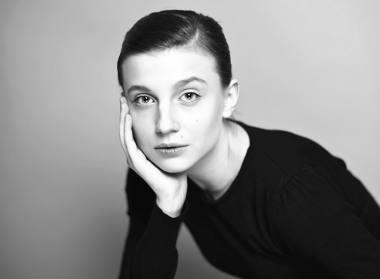Aktorė Jovita Jankelaitytė. Bartoszo Frątczako nuotrauka