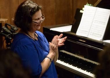 Padėkos premija bus įteikta teatro operos solistų koncertmeisterei Olgai Eleonorai Taškinaitei. Martyno Aleksos nuotrauka