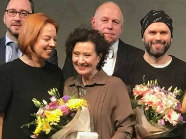 Nelė Savičenko apdovanota Rokiškyje. Rengėjų archyvo nuotrauka