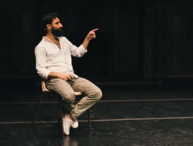 Bassamas Abou Diabas. Asmeninio archyvo nuotrauka