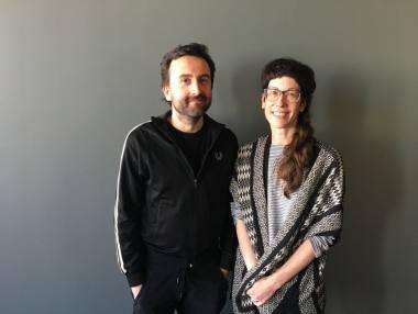 Romualdas Krężelis ir Monica Duncan. LNDT archyvo nuotrauka