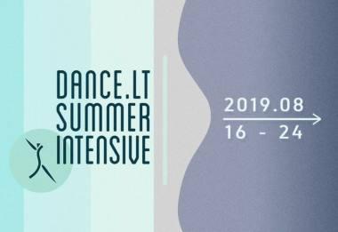 "Vasaros šokio mokykla ""Dance.lt Summer Intensive""."