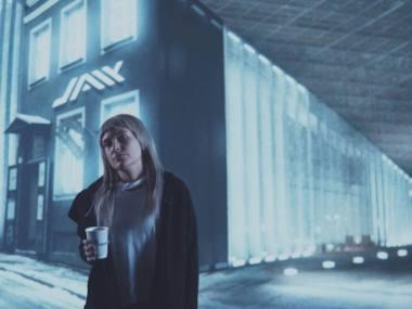 "Liis Lindmaa (Johanna) teatro seriale ""Jaik"". Von Krahlio teatro nuotrauka"