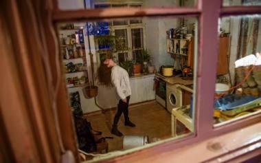 """Akimirka iš """"Performing for Objects"""". Nuotrauka iš šokio tyrinėjimo platformos """"Bitės"""" archyvo"""