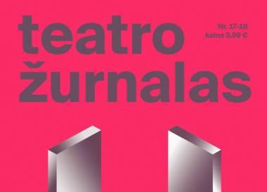 """Naujausias """"Teatro žurnalas""""."""