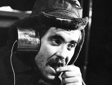 """Aktorius Kostas Smoriginas spektaklyje """"Kvadratas"""". Stanislovo Kairio nuotrauka"""