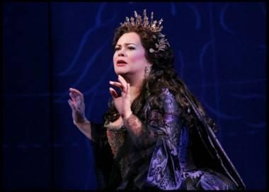 "Violeta Urmana operoje ""Ariadnė Nakse"". ""Metropolitan opera"" nuotrauka"