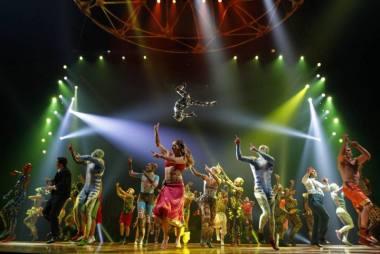 "Scena iš spektaklio ""Totem"". V. J. Blanco nuotrauka"
