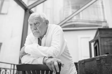 Aktorius Gediminas Girdvainis (1944-2020). Nuotrauka iš VMT archyvo