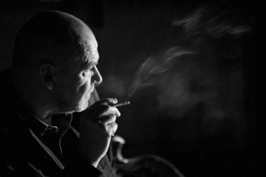 Režisierius Eimuntas Nekrošius. Dmitrijaus Matvejevo nuotrauka