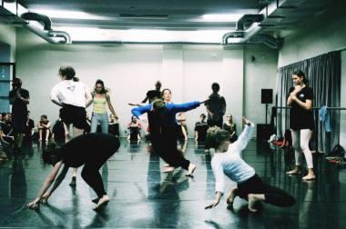 """Akimirka iš kasmet rengiamos šokio mokyklos """"Dance.lt Summer Intensive"""". Nuotrauka iš LŠIC archyvo"""