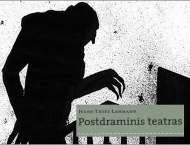 """Nosferatu (Postdraminis teatras) sėlina. """"Menų faktūros"""" fotokoliažui panaudota kino filmo """"Nosferatu"""" plakato motyvas (režisierius F. W. Murnau, 1922)."""