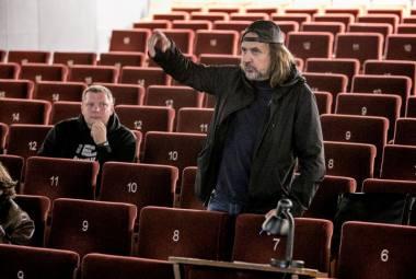 Režisierius Oskaras Koršunovas. Sauliaus Jankausko nuotrauka