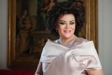 Operos solistė Violeta Urmanavičiūtė-Urmana. Nuotrauka iš asmeninio archyvo