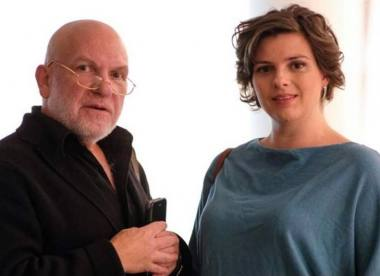 LRDT vyriausiasis režisierius Vladimiras Gurfinkelis ir vadovė Olga Polevikova. Nuotrauka iš LRDT archyvo