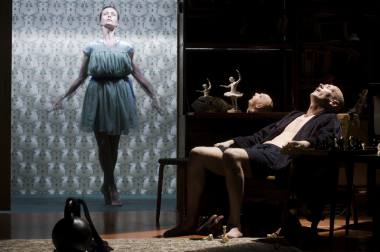 "Scena iš spektaklio ""Miranda"" (rež. Oskaras Koršunovas). Dmitrijaus Matvejevo nuotrauka"