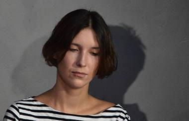 Debiutuojanti režisierė Laura Kutkaitė. Nuotrauka iš asmeninio archyvo