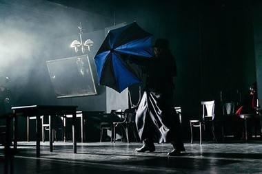 """Rimo Tumino ir Vlado Bagdono """"Minetis"""". Nuotrauka iš teatras-online.ru"""