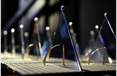 Apdovanojimai Latvijos teatro geriausiems. Nuotrauka iš diena.lv