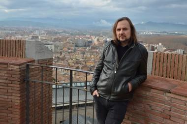 Oskaras Koršunovas Žironoje. OKT archyvo nuotrauka