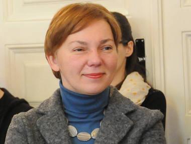 Teatrologė Rasa Vasinauskaitė. Asmeninio archyvo nuotrauka