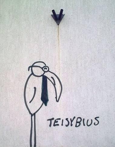 Vilniaus grafitis. Autoriaus nuotrauka