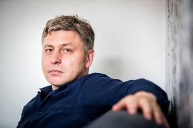 Dramaturgas Marius Ivaškevičius. delfi.lt nuotrauka