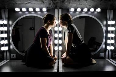 """Scena iš spektaklio """"Partners"""". Lauros Vansevičienės nuotrauka"""