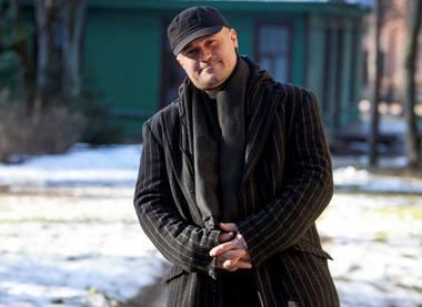Aktorius Dalius Skamarakas. Alinos Ožič (lzinios.lt) nuotrauka