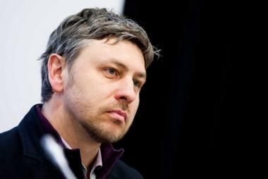 Dramaturgas Marius Ivaškevičius. Tomo Vinicko (delfi.lt) nuotrauka
