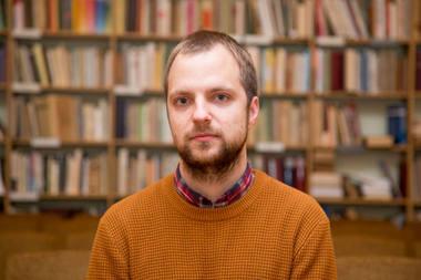 Istorikas, rašytojas Tomas Vaiseta. Juliaus Kalinsko (15min.lt) nuotrauka