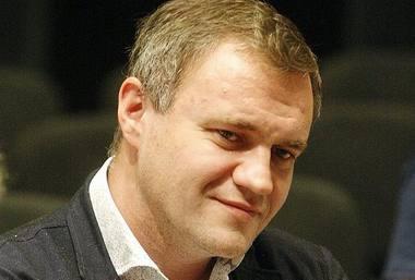Klaipėdos dramos teatro vadovas Tomas Juočys. Algirdo Kubaičio nuotrauka