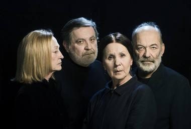 Spektaklyje vaidins Jūratė Onaitytė, Kostas Smoriginas, Dalia Overaitė, Vidas Petkevičius. Dmitrijaus Matvejevo nuotrauka