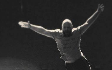 Petras Lisauskas žada performansą. Rengėjų nuotrauka