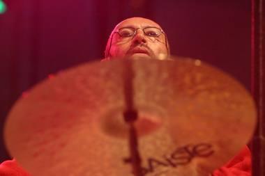 Klezmerių muzikos festivalio sumanytojas - avangardinio džiazo atlikėjas, perkusininkas Arkadijus Gotesmanas. Nuotrauka iš lzinios.lt archyvo