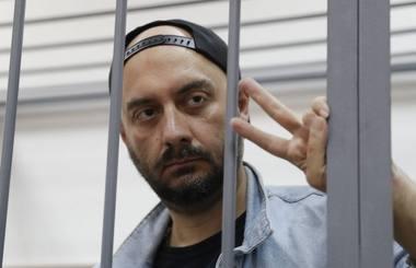 Teismas skyrė K.Serebrenikovui kardomąją priemonę - namų areštą iki spalio 19 dienos. Nuotrauka iš lrytas.lt