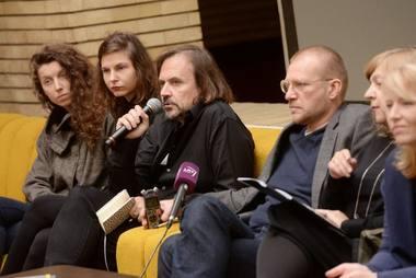 """Festivalio """"Sirenos"""" spaudos konferencija. Dainiaus Putino nuotrauka"""