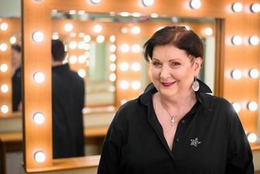 Aktorė Larisa Kalpokaitė. VMT archyvo nuotrauka