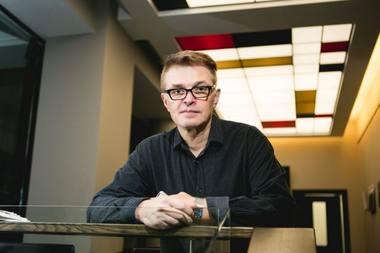 """Režisierius, teatro """"Utopia"""" įkūrėjas Gintaras Varnas. Andriaus Aleksandravičiaus (kauno.diena.lt) nuotrauka"""