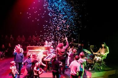 """Spektaklis-koncertas """"Mailso tonai"""". Dmitrijaus Matvejevo nuotrauka"""
