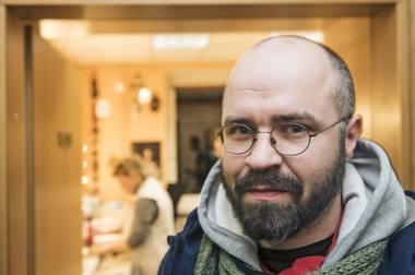 Spektaklio režisierius Jonas Tertelis. Dmitrijaus Matvejevo nuotrauka