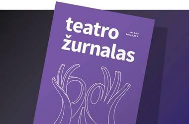 """Naujasis """"Teatro žurnalo"""" numeris"""