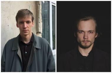 Vladas Suncovas (kairėje) ir Matiss Gricmanis. Rengėjų archyvo nuotrauka