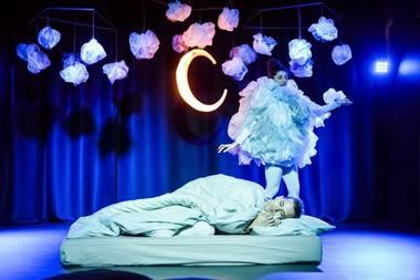 """Režisierės Eglės Kižaitės darbas """"Op!"""", sukurtas 18 mėn. – 3 metų vaikams. Lauros Vansevičienės nuotrauka"""