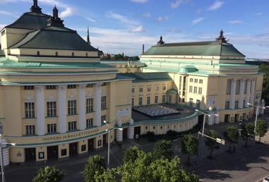 Estijos nacionalinės operos tearo pastatas. Rengėjų arcchyvo nuotrauka