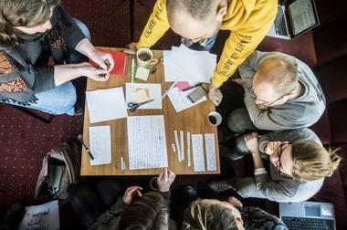 LNDT kviečia  kalbėti apie namus, apie santykį su namiškiais, apie priklausymą bendruomenei. Dmitrijaus Matvejevo nuotrauka