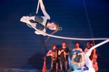 """Trupės """"Circus I Love You"""" psairodymas. Organizatorių archyvo nuotrauka"""