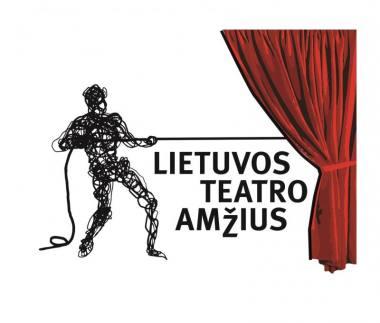 """Rugsėjo 20 d. prasideda projektas """"Lietuvos teatro amžius"""". Liudo Parulskio logotipas"""