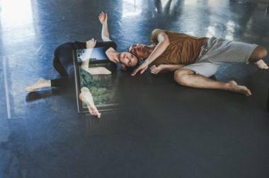 Šiuolaikinio šokio trenažas Klaipėdoje. Eglės Sabaliauskaitės nuotrauka
